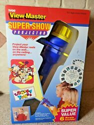 Vintage 1993 Tyco View Master Super Show Projector Looney Tunes