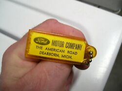 Vintage 1960' S Ford Accessories Nos Promo Fomoco Auto Key Holder Fob Hot Rod Oe