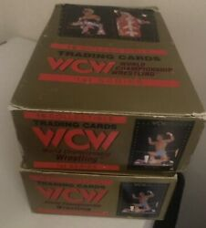 1991 Wcw Championship Wrestling Cards Full Box Of 36 Sealed Packs Rare