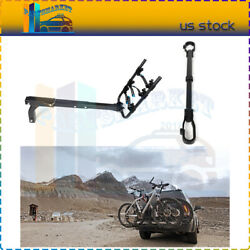 2 Bicycle Carrier Hitch Rack Mount Luggage Universal Bike Tube Frame Adapter