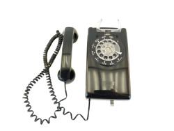 Bell System Western Electric Rotary Dial Wall Vintage Black Phone 228 3-79