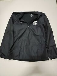 Nike Storm Fit Michigan State Spartans Jacket L New With Tags