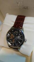 [discontinued] Royal Orient We0031fq Mechanical Watch Menand039s Ship From Jpn F/s