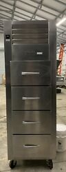 Traulsen Refrigerator. Fish And Poultry Cooler. File Cooler