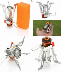 AOTU Portable Camping Stoves Backpacking Stove with Piezo Ignition Stable... $19.39
