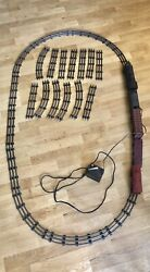 Vintage Allstate Sears Roebuck And Co 9625 Electric Train Set With Box