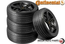 4 Continental Contisportcontact 5p 325/40zr21 113y Max Performance Summer Tire