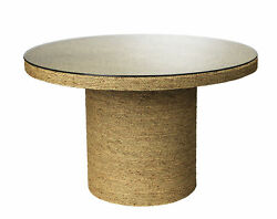 Jamie Young Harbor Round Bistro Table With Natural Finish 20harb-bina