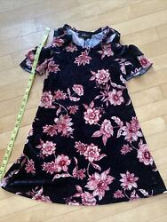 Amy Byer Cold Shoulder Girls Dress Size 7 8 Small $10.00