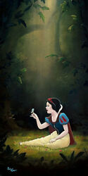 Disney Paintings Snow White And The Seven Children/ Smiles Singing Voices