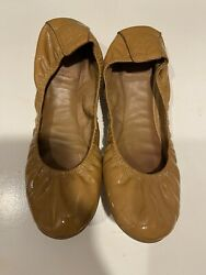 Tory burch Eddie nude patent leather size 9 $35.00