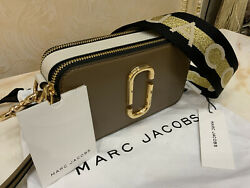 MARC JACOBS Snapshot Small Camera Multi French gray New With Tags $220.00