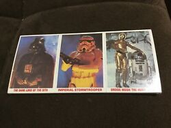 New 1980 Topps Star Wars Burger King Everybody Wins 36 Trading Cards Sealed