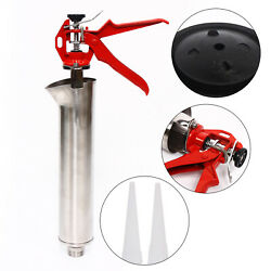 Mortar Pointing Grouting Gun Sprayer Applicator Tool Cement Lime Tool+2 Nozzle