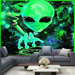 Alien Wall Hanging Psychedelic Tapestry Mandala Art Home decor Hippie Any room