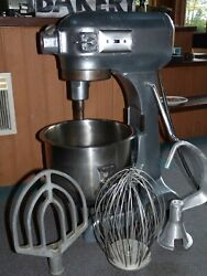 Hobart A200 20 Quart Commercial Bakery Mixer Stainless Bowl And 3 Attachments Ohio