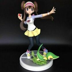 7.5and039and039 Mei And Snivy Action Figures Pvc Toy Animation Model Gift No Box