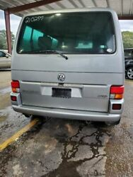 2000 Volkswagen Eurovan Vw Oem Silver Liftgate Hatch Tailgate W Insulated Glass