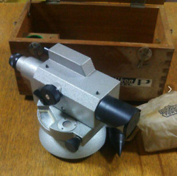 Nikon Level P Survey Vintage Showa Telescope Collection 1963 Made In Japan Used