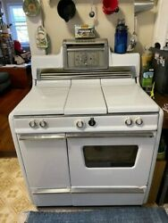 Kenmore Antique Oven And Cooktop