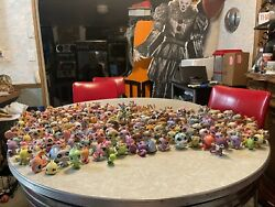Littlest Pet Shop Huge Lot 250+pets, 15 Play Houses, And Few Accessories