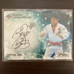 Rare Bbm Infinity 2019 Hifumi Abe Limited To 90 Autograph Cards Infinity Tokyo