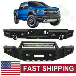 Powder Coated Steel Front / Rear Bumper For 2018-2020 Ford F 150