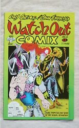 Watch Out Comix No. 1 First Printing March 1986 Gay Satire From San Francisco