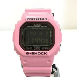 Casio G-shock Watch Dw5600lr Lovers Collection Lava Colle No.5788