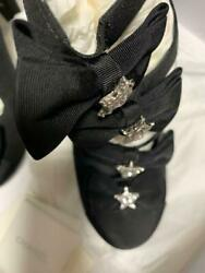 Star-adorned High Heels With Ribbons From Japan Fedex No.1349