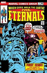 Eternals 1 Facsimile 24 X 36 Poster By Jack Kirby New Rolled Marvel Comics