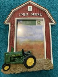 John Deere Tractor Picture Frame New