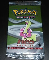 1x Neo Genesis 1st Edition Sealed Pack Pokemon Cards Unweighed Cs8