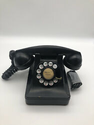 Vintage Mayfair 7-1840 Western Electric Bell System F1 302-g,rot.dial Desk Phone