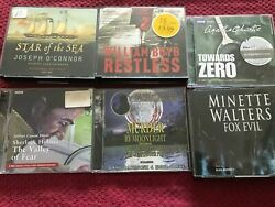 Joblot Cd Audio Book Assorted Collection X 6 Free Uk Post