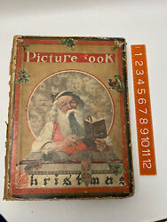 Antique Ooak 1920s Picture Book Art Deco Christmas Gift All Pages Full Collage