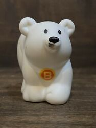 Fisher Price Little People A to Z Learning Zoo Alphabet Letter B White Bear