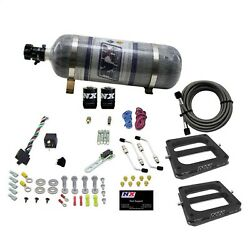 Nitrous Express 50270-12 Phase 3 Conventional Plate Nitrous System