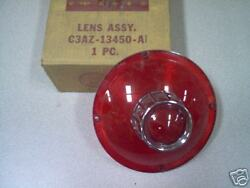 1963 Ford Full Size Tailamp Lens W/o Backup - Nos