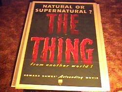 Thing From Another World Movie Poster And03951 Horror Sci Fi