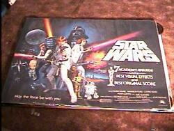 Star Wars Rolled Academy Awards B Quad Movie Poster '77