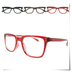 Free Case New Big Vintage Reading Glasses Red All Ware