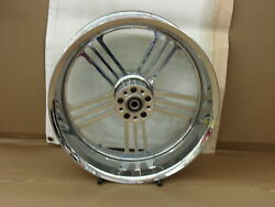 Weld Forge 18x8.5chrome Motorcycle Rear Wheel