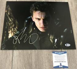 James Franco Signed Autograph Spider-man 11x14 Photo W/proof And Beckett Bas Coa