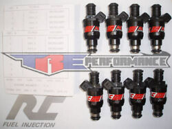 Rc 36lb Flow Matched Fuel Injectors Fit Chevy Ford Pontiac Bosch New 370