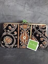 VERA BRADLEY CAFFE LATTE CLUTCH WALLET - BRAND NEW WITH TAGS