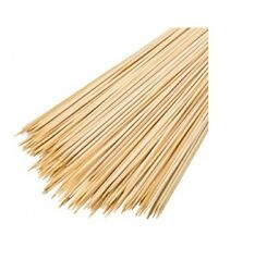 100 Bamboo Skewers Bbq Kebabs Satay Barbecue Meat Long Sticks 10 260x3mm