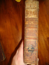 Nice Old French To German Dictionary Published By Phillippe J Dannbach Ca 1782