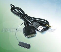 Ipod Iphone Av Adapter Cable To Alpine Iva-w520r E Iva-d511r/rb Ref Kcu-451iv