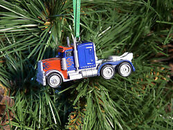 Transformers Bumblebee And Optimus Prime Custom Made Diecast Christmas Ornaments
